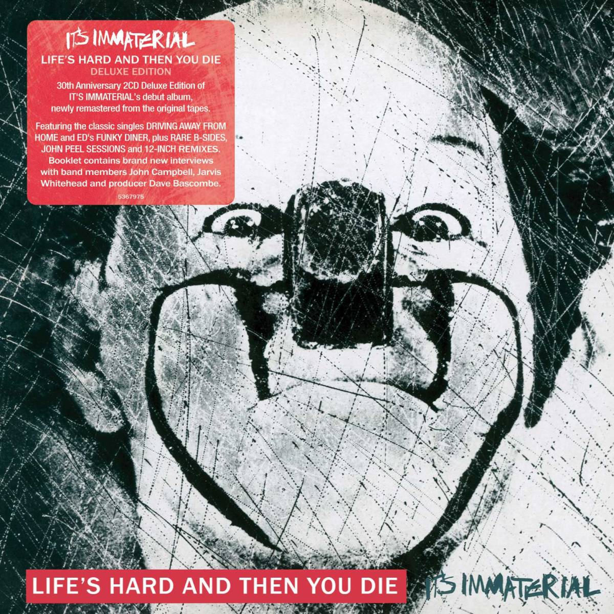 Want List: It's Immaterial - Life's Hard And Then You Die DLX RM