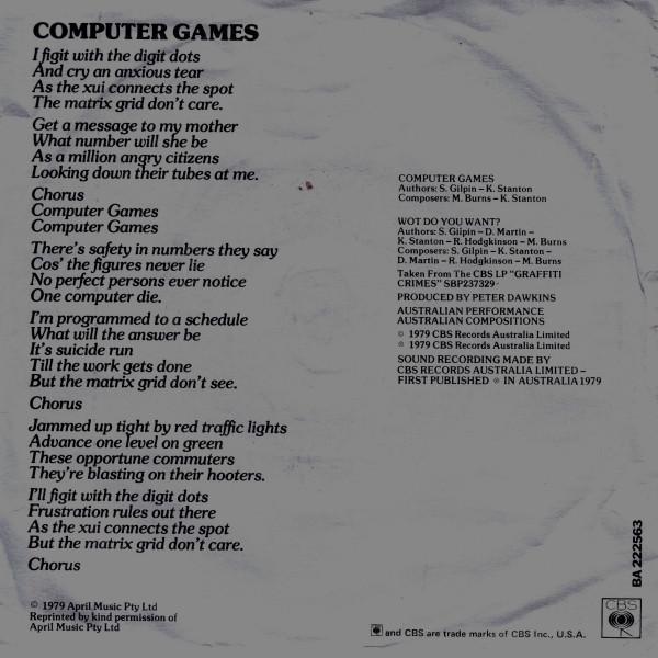 computer games OZ 7