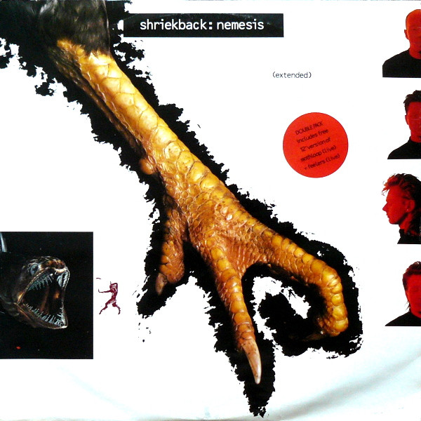 "shriekback nemesis 2x12"" cover art"