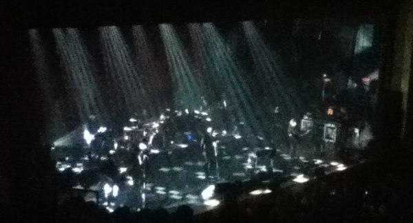 Ferry at the Ryman Auditorium