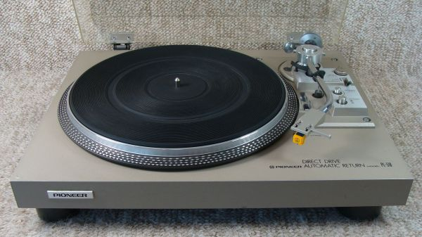 Pioner PL-518 direct drive turntable