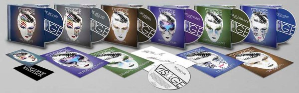 7 CDs of contemporary and classic Visage