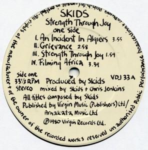Virgin   UK   LP   1980   VDJ 33