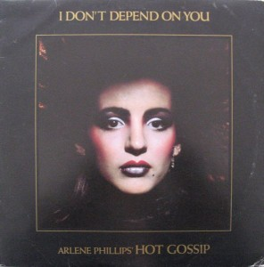 Record Review Arlene Philips Hot Gossip I Don T Depend On You