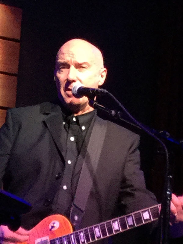 Midge Ure's last night in North America - all photos Ms. Monk