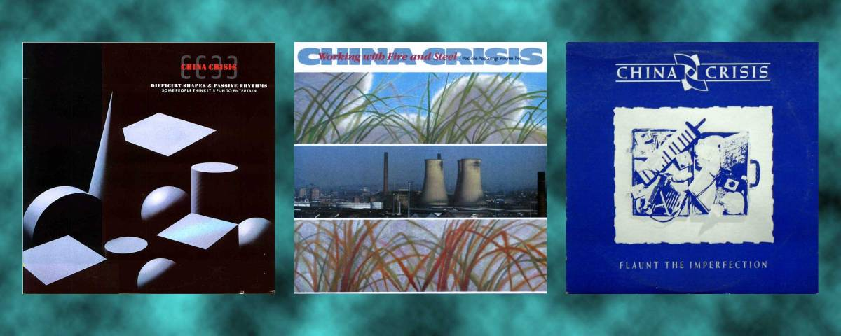 Seven CDs Of China Crisis For All
