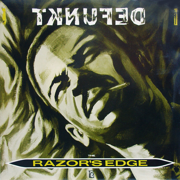 defunkt - the razor's edge cover art neville brody