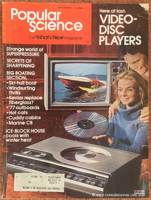 popular science laserdisc cover