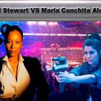 Steel Cage Match: Ultravox! Catfight Between Amii Stewart and Maria Conchita Alonso!