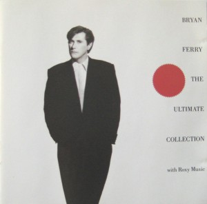 bryan ferry + roxy music album the collection ca. 1988