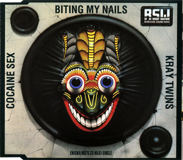 "cover of Renegade Soundwave's ""Biting My Nals"" US CD single"