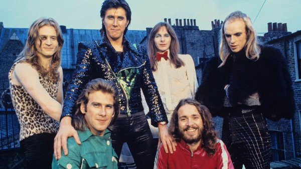 Roxy Music ca 1972