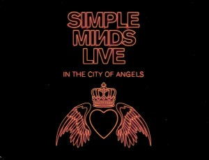 simple minds live in the city of angels UK 4xCD cover