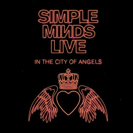 simple minds - live in the city of angels 4xCD cover