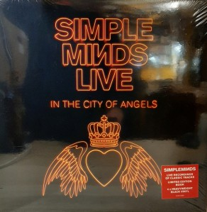 simple minds - live in the city of angels UK 4xLP cover