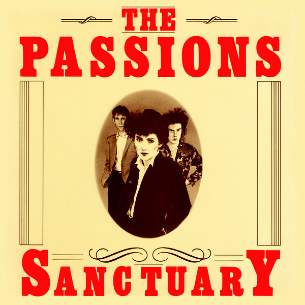 The Passions Sanctuary US CD cover