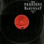 "The PAssions - Sanctuary UK 12"" cover"