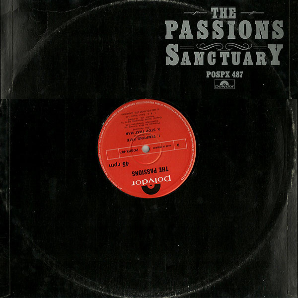 """The PAssions - Sanctuary UK 12"""" cover"""