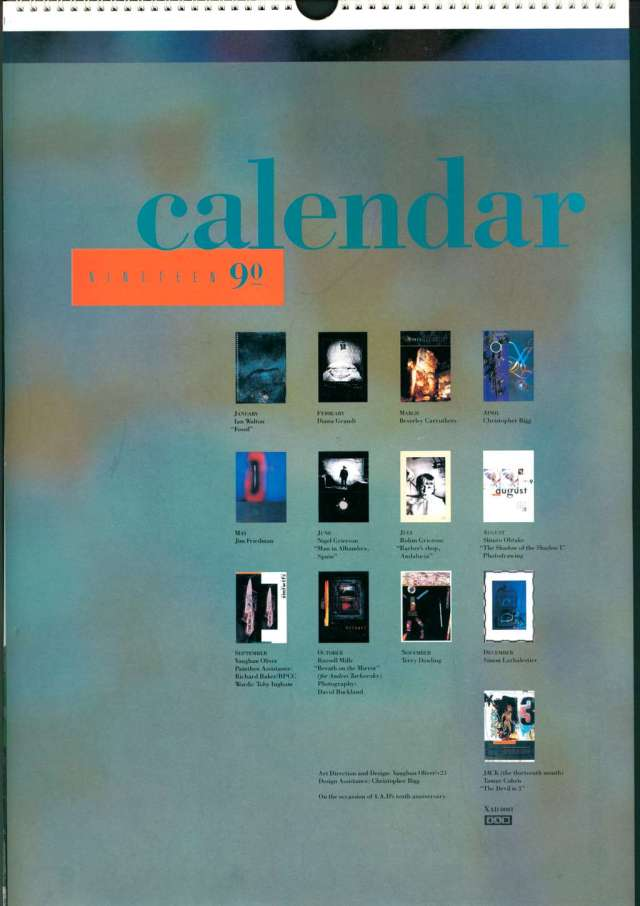 4AD 1990 calendar