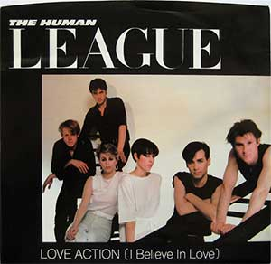 the human league - love action US 7