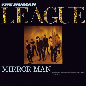 "the human league - mirror man UK 12"" cover"