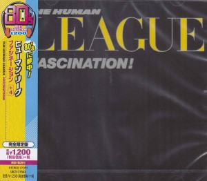 the human league - fascination Japan CD cover