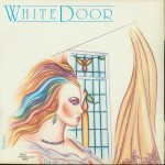 white door windows single cover