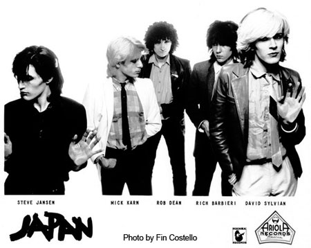 japan promo shot (c) 1980 fin costello
