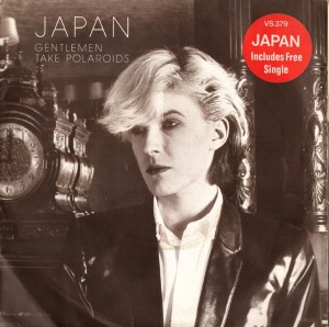 "JAPAN gentlemen take polaroids double 7"" cover"