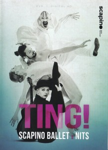 nits + scapino ballet - ting! NL DVD cover