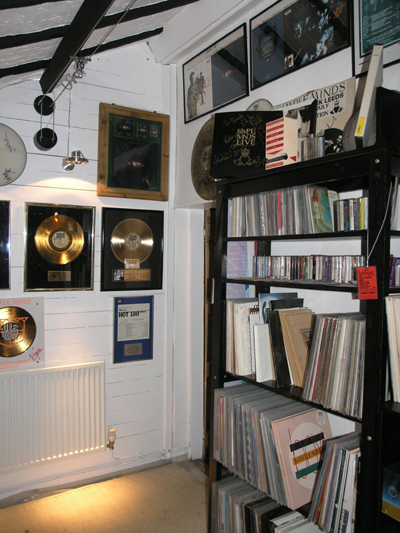 simon cornwell's simple minds record collection [room 4]