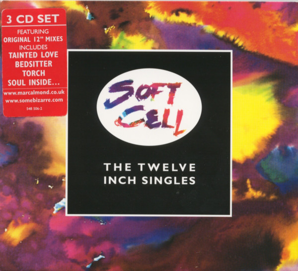 soft cell twelve inch singles CD cover