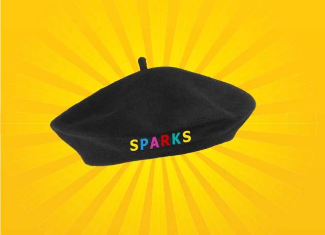 the godlike Sparks beret!