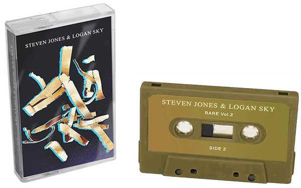 steven jones + logan sky rare vol 2 cassette
