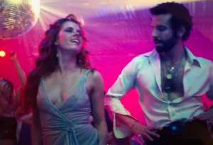 amy adams and bradley cooper groove to i feel love at studio 54 from american hustle