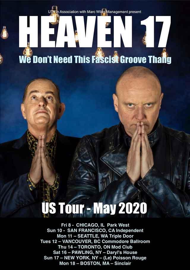 heavenn 17 2020 us tour poster
