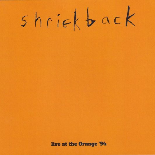 shriekback live at the orange '94 album cover