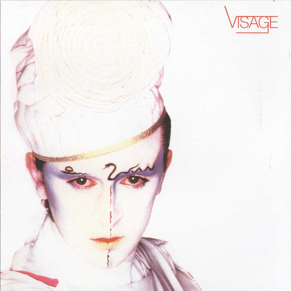 visage - alternate US LP cover