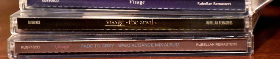 all 3 visage CDs from Rubellan Remasters