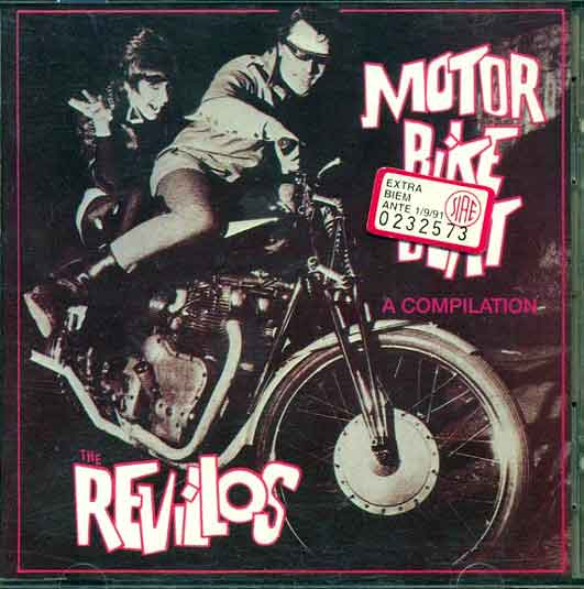 revillos - motorbike beat CD cover