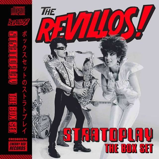 the revillos stratoplay boxed set covre