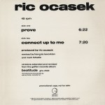 ric ocasek prove promo single cover