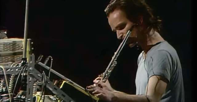 florian schneider played the flute first