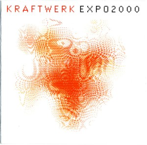 kraftwerk - expo2000 lenticular CD cover art