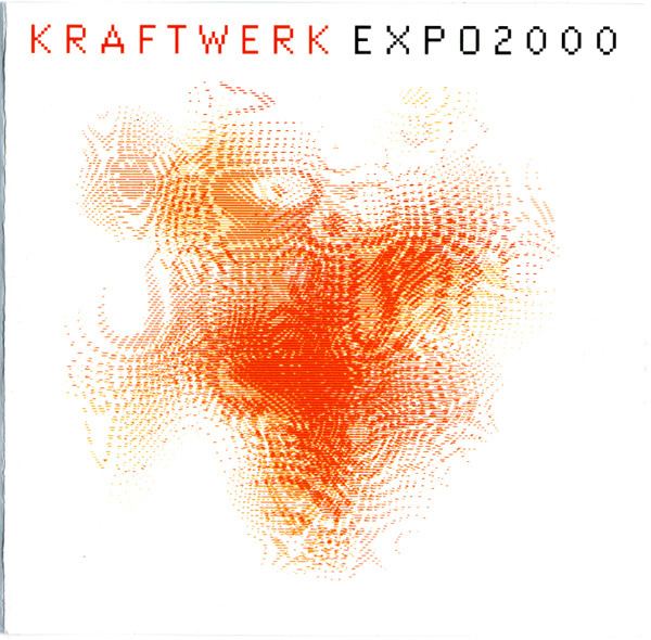 kraftwerk - expo2000 lenticular CD cover art