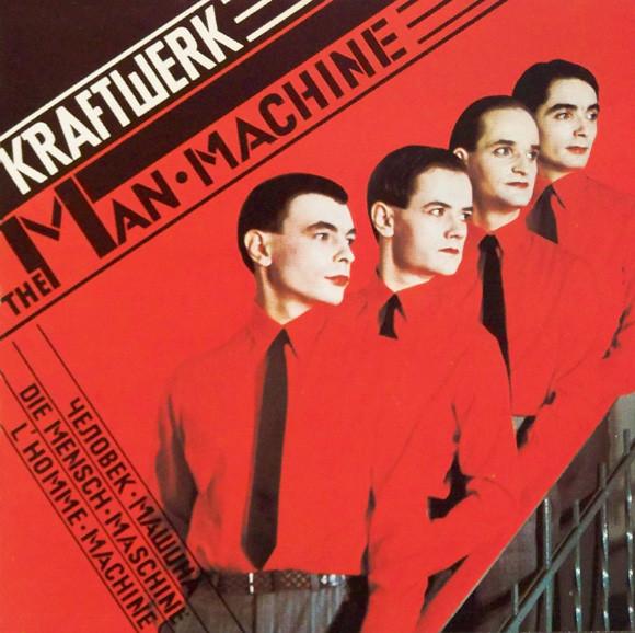kraftwerk - man-machine cover art