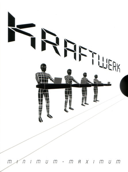 kraftwerk - minimum-maximum DVD cover art
