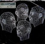 """kraftwerk - musique non-stop US 7"""" cover art"""