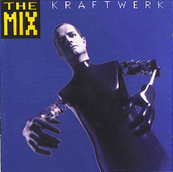 kraftwerk - the mix cover art