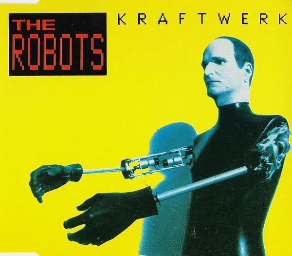 kraftwerk - the robots UK CD5 cover art